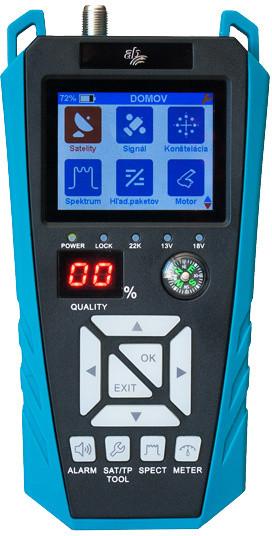 AB CryptoBox Meter, měřící přístroj