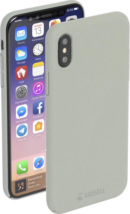 Krusell zadní kryt SANDBY pro Apple iPhone X, písková