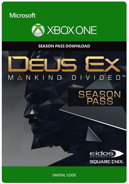 Deus Ex Mankind Divided - Season Pass (Xbox ONE) - elektronicky