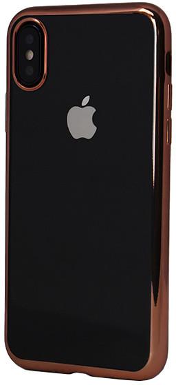 EPICO BRIGHT pružný plastový kryt pro iPhone X - zlatý