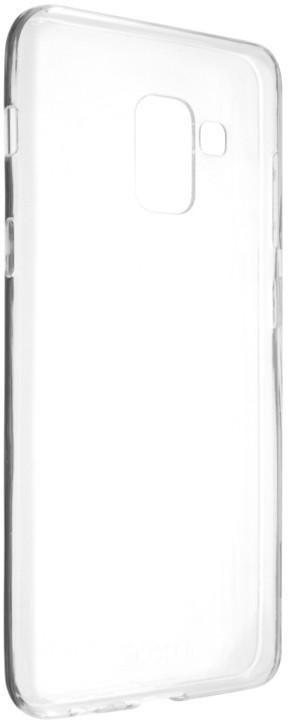 FIXED TPU gelové pouzdro pro Samsung Galaxy A8 (2018), čiré