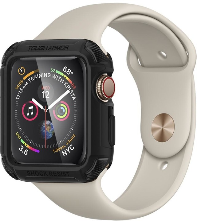 Spigen Tough Armor Apple Watch 4/5 44mm, černá