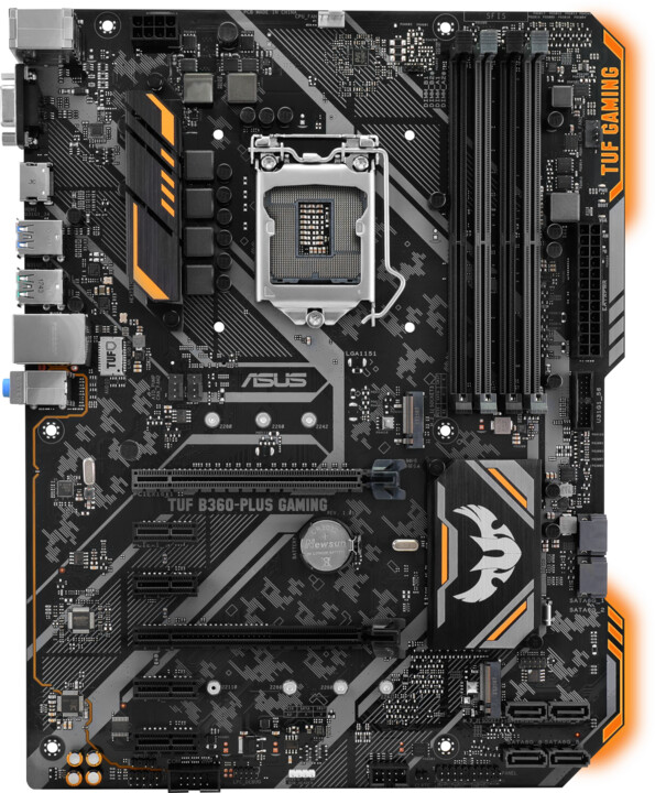 ASUS TUF B360-PLUS GAMING - Intel B360