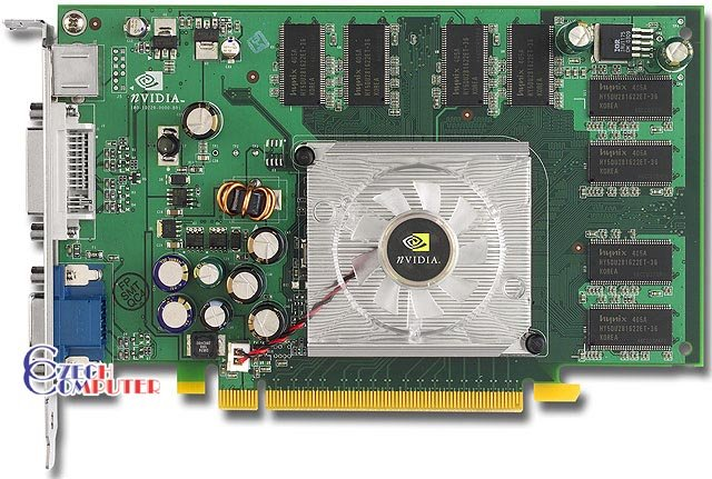 Hewlett-Packard Quadro FX540 128MB, PCI-E