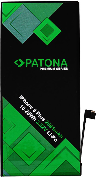 Patona baterie pro mobilní telefon iPhone 8 PLUS, 2691mAh 3,82V Li-Pol + nářadí PREMIUM