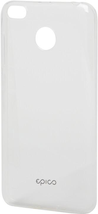 EPICO pružný plastový kryt pro Xiaomi Redmi 4X RONNY GLOSS - bílý transparentní