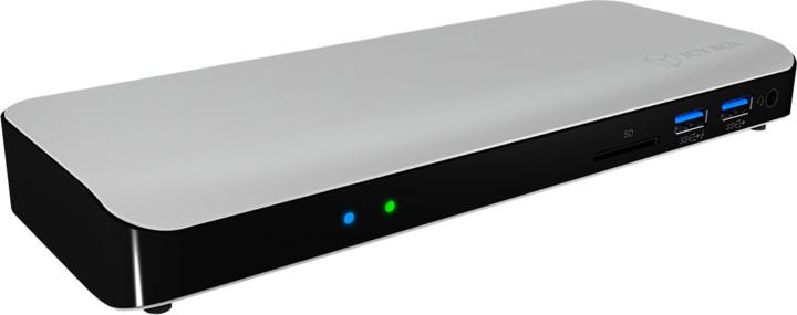 ICY BOX IB-DK2501-TB3 Thunderbolt 3 DockingStation