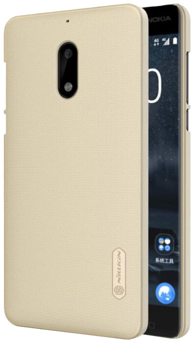 Nillkin Super Frosted Zadní Kryt pro Nokia 5, Gold