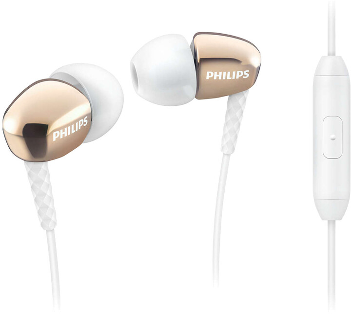 Philips SHE3905GD, zlatá