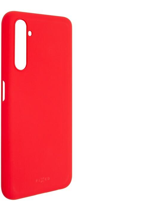 FIXED Story zadní pogumovaný kryt pro Realme 6 Pro, červená