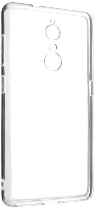 FIXED Skin ultratenké TPU gelové pouzdro pro Lenovo K8, 0,5 mm, čiré