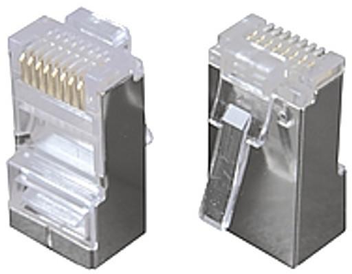 Solarix konektor RJ45 CAT6 STP 8p8c stíněný skládaný na drát KRJS45/6SLD