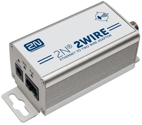 2N převodník 2Wire/Ethernet, sada dvou kusů, PoE
