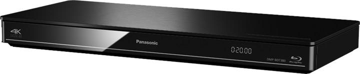 Panasonic DMP-BDT380EG, 3D, černá