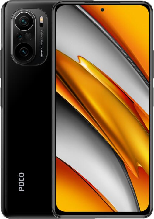 POCO F3, 6GB/128GB, Night Black