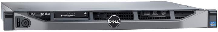 Dell PowerEdge R220, E3-1220/8GB/2x1TB/WSF2012