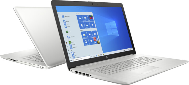 HP 17-by3001nc, stříbrná