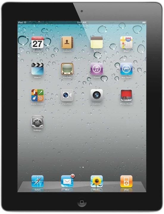 Apple iPad 2 16GB, Wi-Fi model, černá