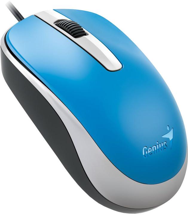 Genius DX-120, USB, modrá