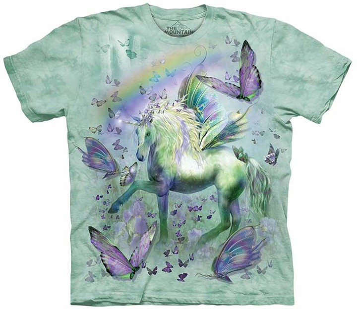 Tričko The Mountain Unicorn a Butterflies (US XL / EU XXL)