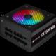 Corsair CX750F RGB - 750W, černý