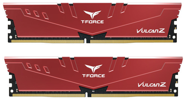 Team T-FORCE Vulcan Z 32GB (2x16GB) DDR4 2666, červená