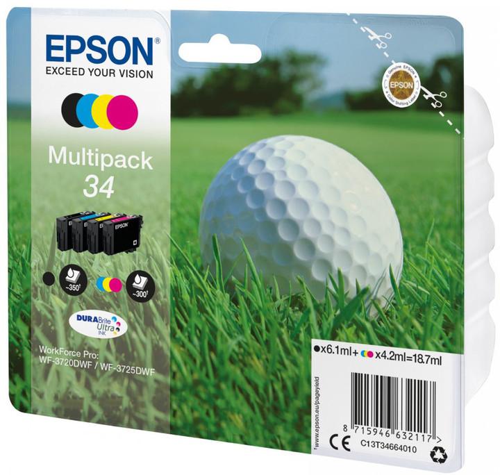 Epson C13T34664010, 34 multipack