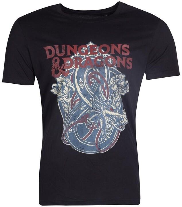 Tričko - Dungeons & Dragons (M)