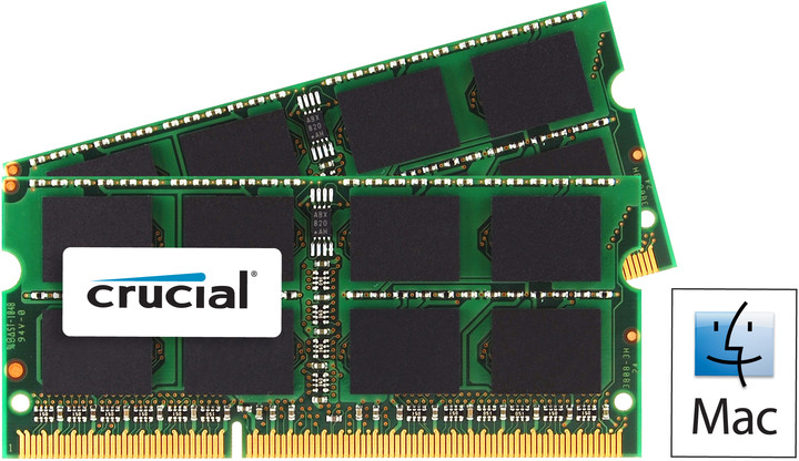 Crucial Mac Compatible 16GB (2x8GB) DDR3 1333 SO-DIMM