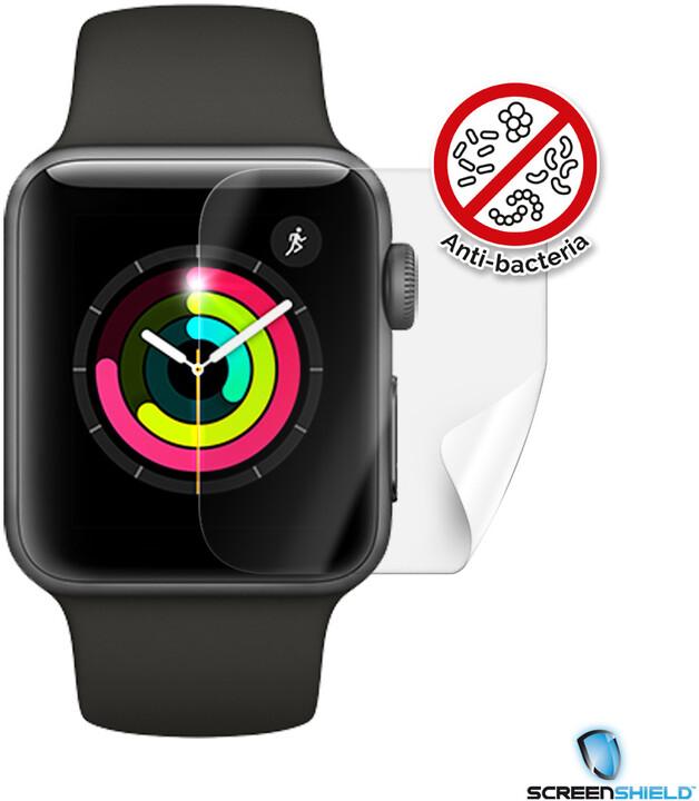 Screenshield fólie na displej Anti-Bacteria pro Apple Watch Series 3 (42 mm)