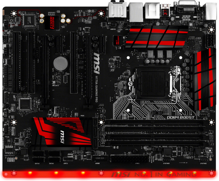 MSI H170A GAMING PRO - Intel H170