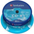 Verbatim CDR Extra Protection 52x 80 minut spindl 25ks