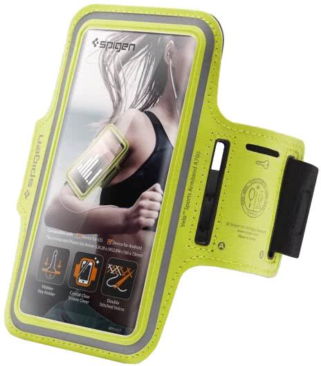 """Spigen sportovní pouzdro Velo A700 pro smartphone 6"""", neonová"""