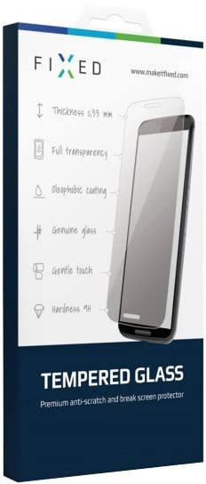 FIXED ochranné tvrzené sklo pro Nokia Lumia 630, 0.33 mm
