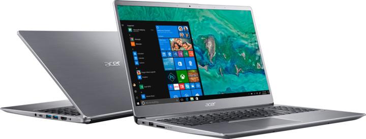 Acer Swift 3 celokovový (SF315-52-59F0), stříbrná