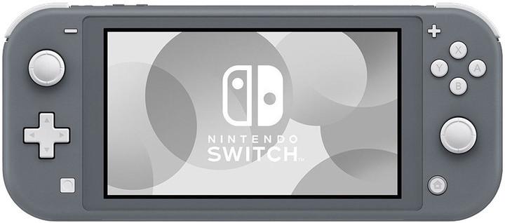 Nintendo Switch Lite, šedá