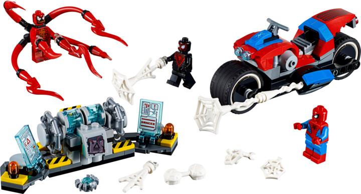 LEGO Marvel Super Heroes 76113 Spider-Man a záchrana na motorce