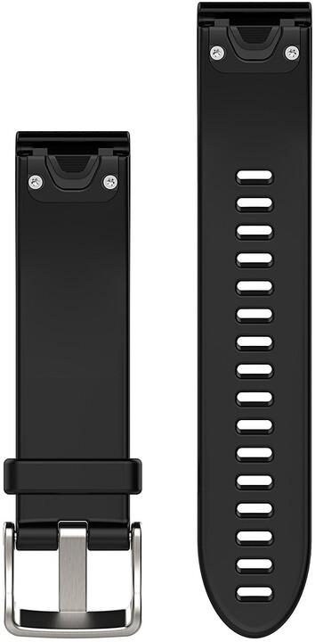 GARMIN náhradní řemínek pro Fenix 5S QuickFit™ 20, černý