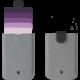 Dax wallet, fialová