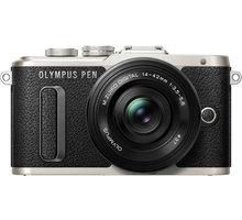 Olympus E-PL8 + 14-42mm, černá/černá - V205082BE000