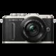 Olympus E-PL8 tělo + 14-42mm, černá/černá  + Objektiv Olympus Body Cap Lens 15mm f/8, bílá v ceně 2199 Kč + 300 Kč na Mall.cz