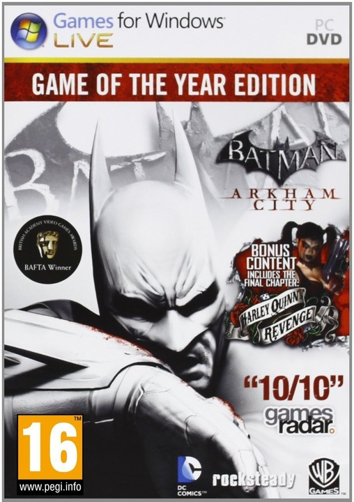 Batman: Arkham City - GOTY (PC)