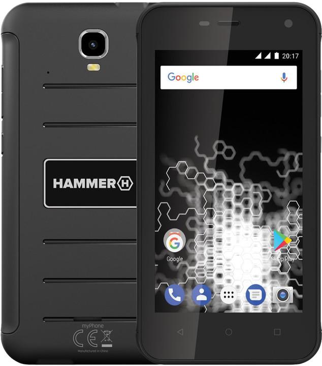 myPhone HAMMER ACTIVE, černá