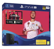 PlayStation 4 Pro, 1TB, Gamma chassis, černá + FIFA 20  + Settlers: Zrod impéria v hodnotě 900 Kč