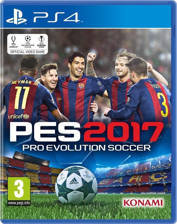 Pro Evolution Soccer 2017 (PS4)