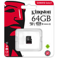 Kingston Micro SDXC Canvas Select 64GB 80MB/s UHS-I