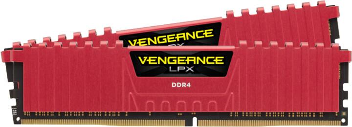 Corsair Vengeance LPX Red 32GB (2x16GB) DDR4 2400