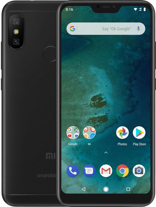 Xiaomi Mi A2 Lite, 3GB/32GB, černá