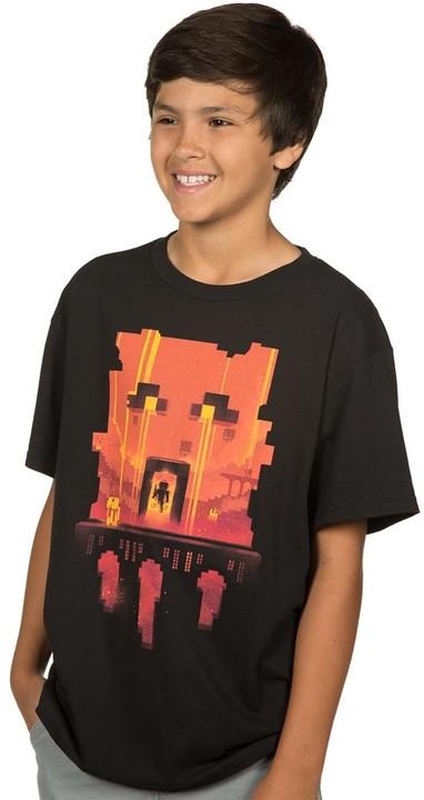 Tričko Minecraft Glimpse, dětské (S)