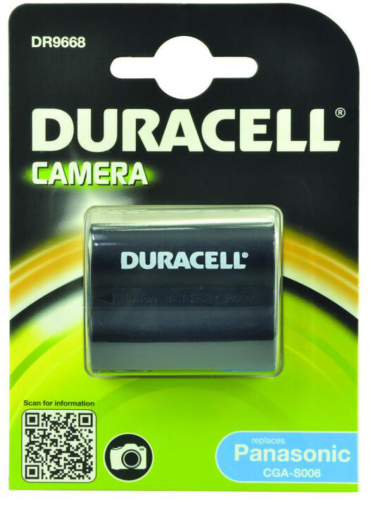 Duracell baterie alternativní pro Panasonic CGR-S006